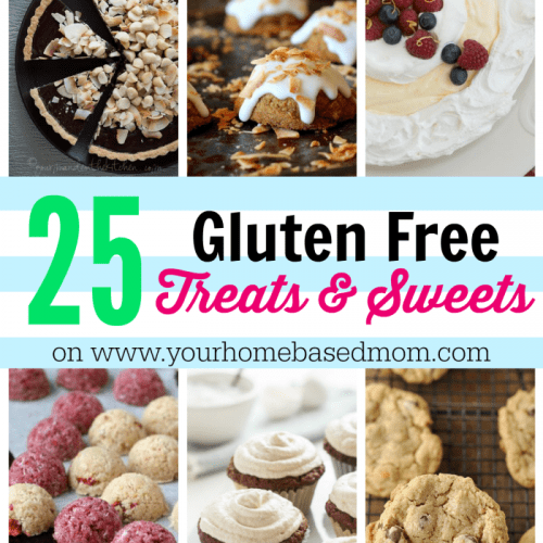 25 Gluten Free Treats and Sweets