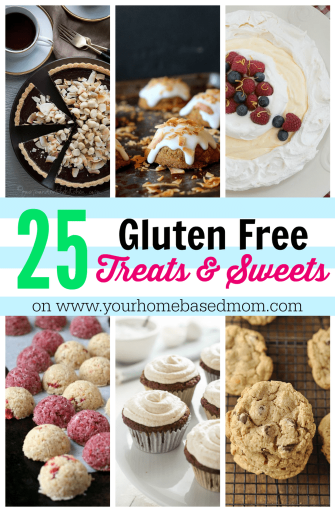 25 Gluten Free Treats & Sweets