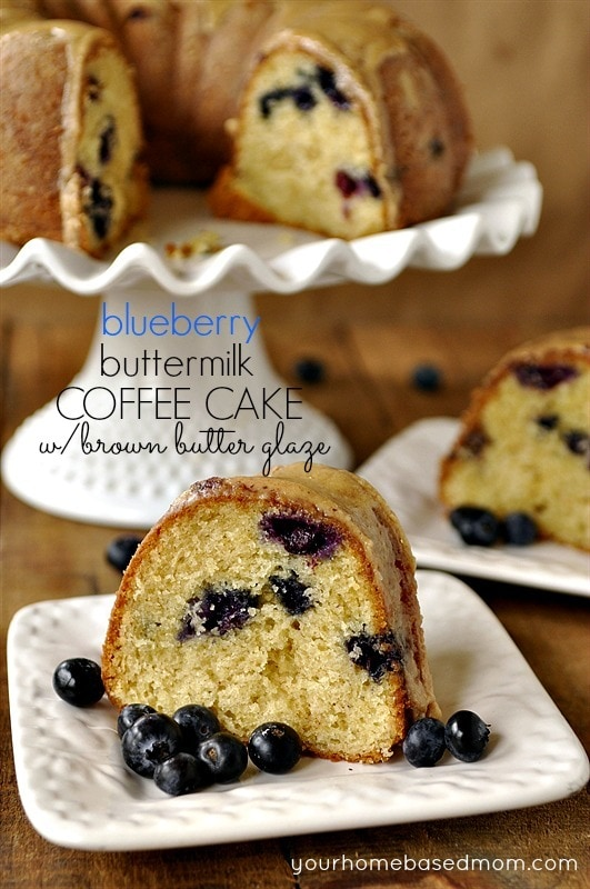 Blueberry Buttermilk Coffee Cake