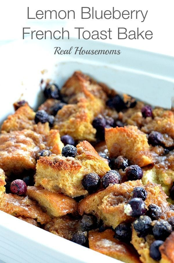 Lemon Blueberry French Toast Bake