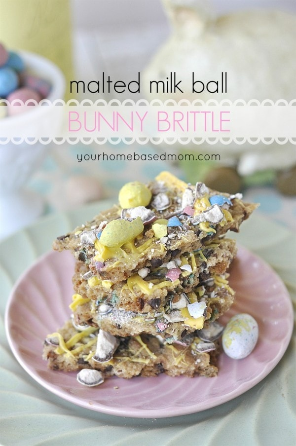 Malted Milk Ball Bunny Brittle