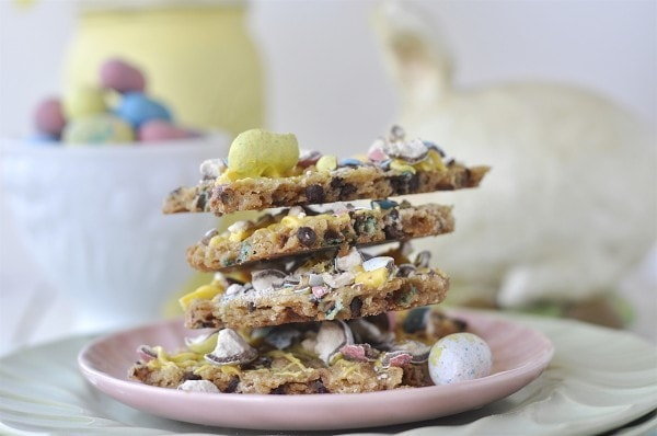 Malted Milk Ball Bunny Brittle
