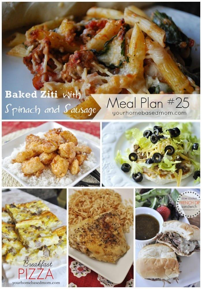 Meal Plan #25
