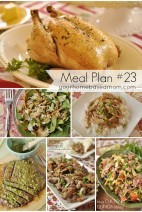 Whats for Dinner}Weekly Meal Plan #23