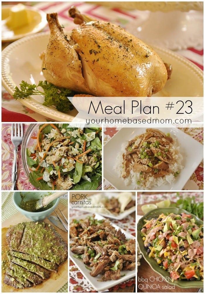 Meal Plan 323