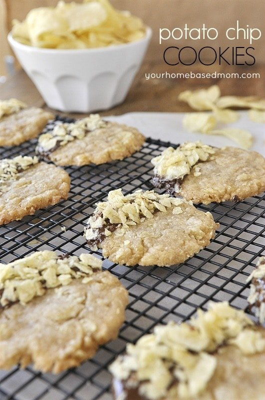 Potato Chip Cookies - your homebased mom