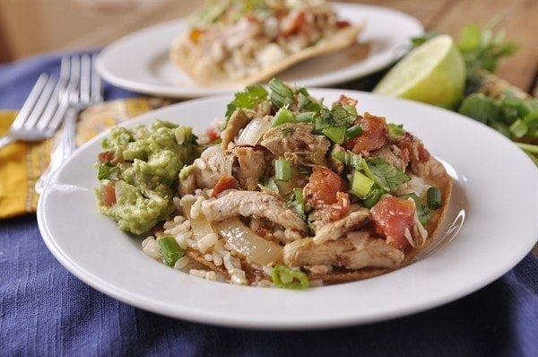 Crock Pot Chicken Tinga