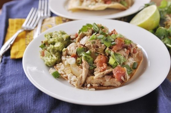 Slow Cooker Chicken Tinga