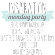 Inspirational Monday Linky Party & Mixer Giveaway