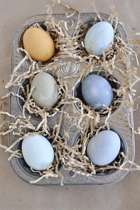 homemade egg dye