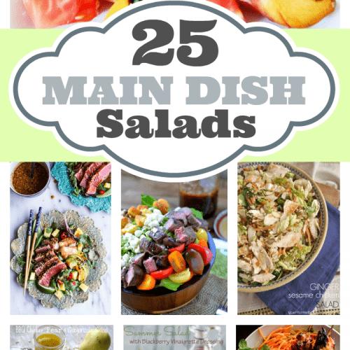 25 Main Dish Salads
