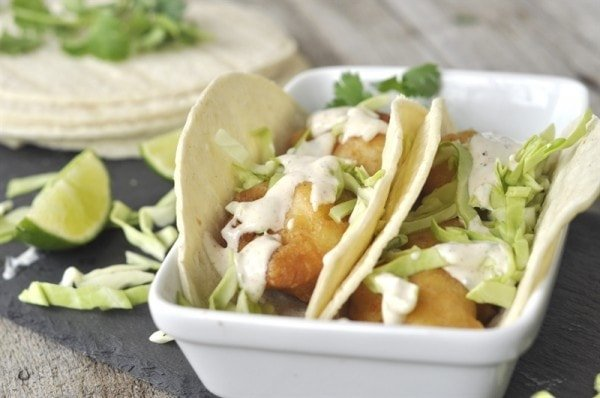 San Diego Style Fish Tacos - your homebased mom