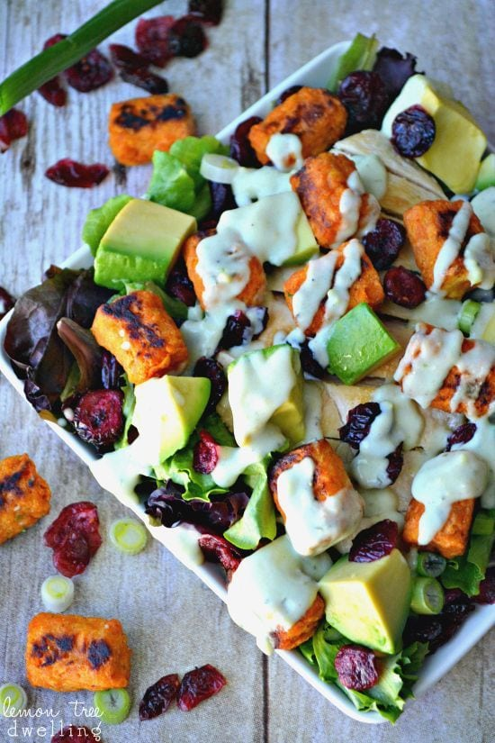Loaded Sweet Potato Tot Salad