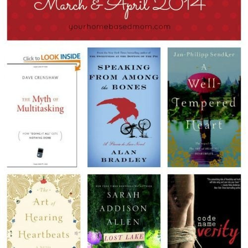March & April 2014 Recommended Reads
