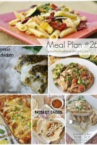 What's For Dinner}Weekly Meal Plan #26