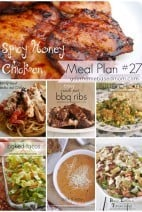 What's for Dinner}Meal Plan #27