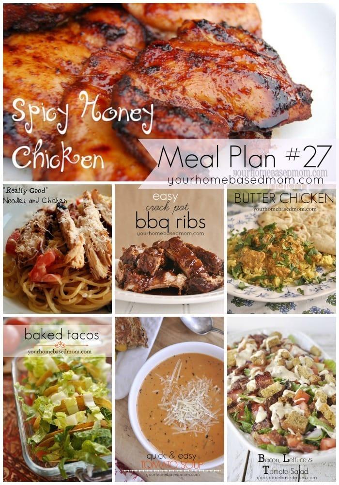 Meal Plan #27
