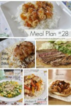 What's for Dinner?}Meal Plan #28