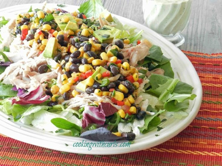 Southwest Chicken Salad Spring