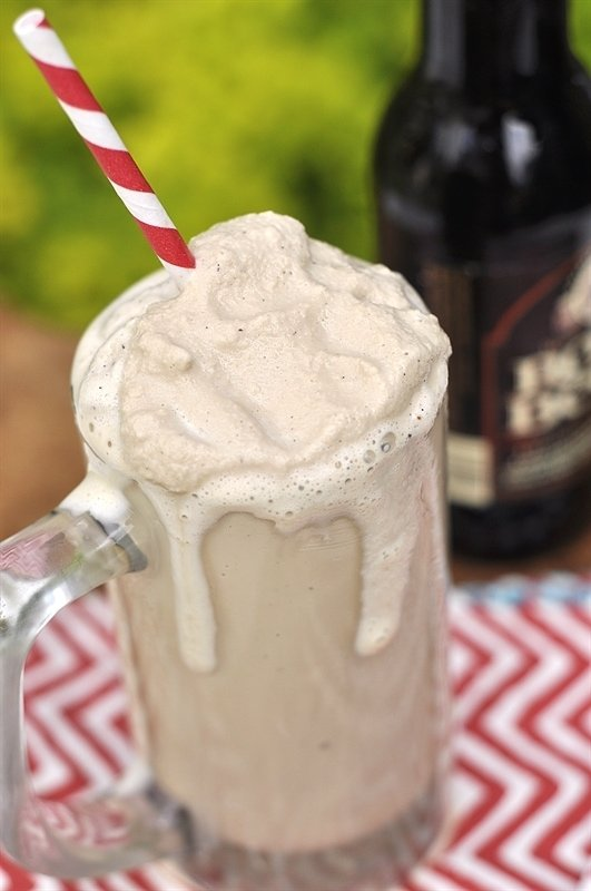 root beer freeze