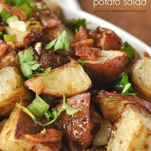 Balsamic Roasted Potato Salad
