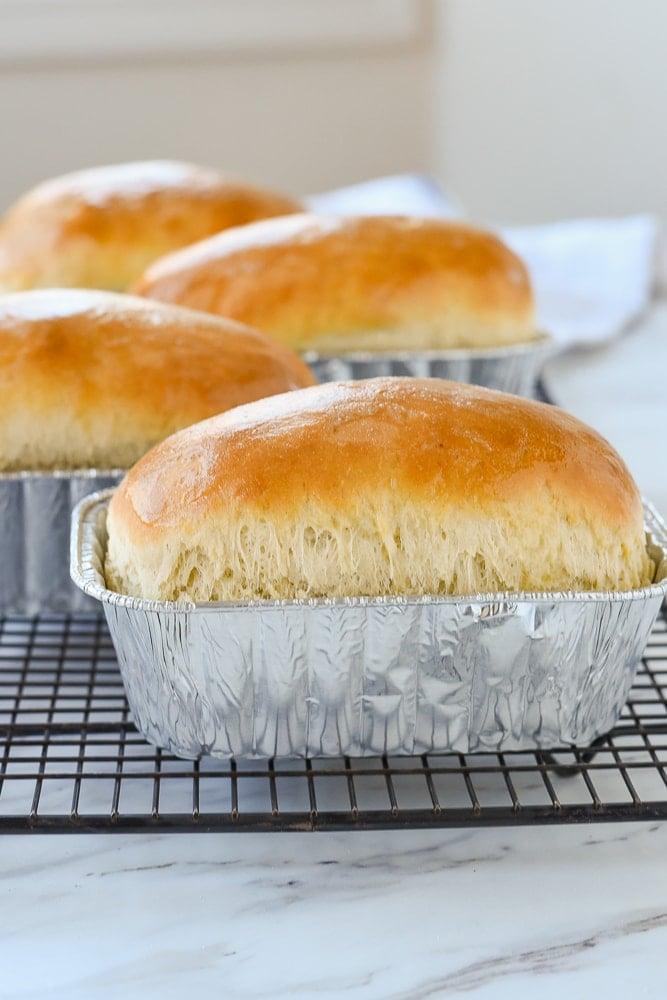 mini loaves of bread