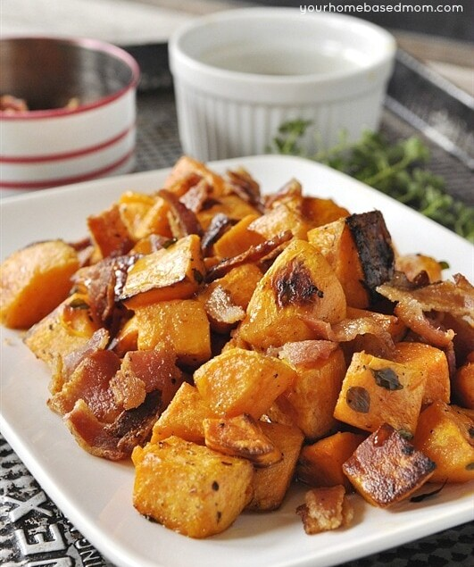 sweet potatoes on a plate