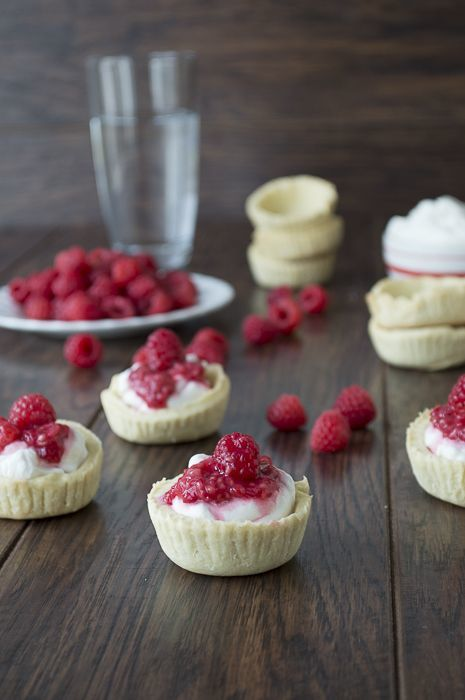 Raspberry Ripple Tarts