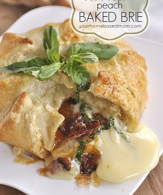 baked brie with bacon