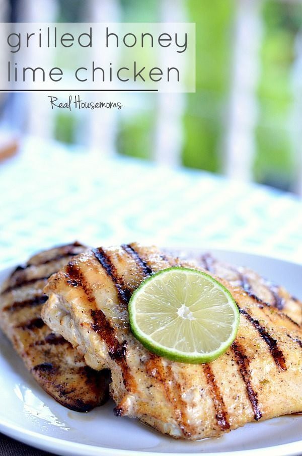 Grilled Honey Lime Chicken Recipe — Dishmaps