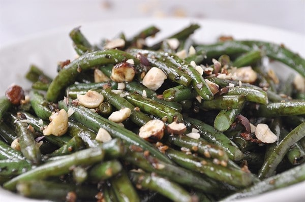 Hazelnut Balsamic Green Beana