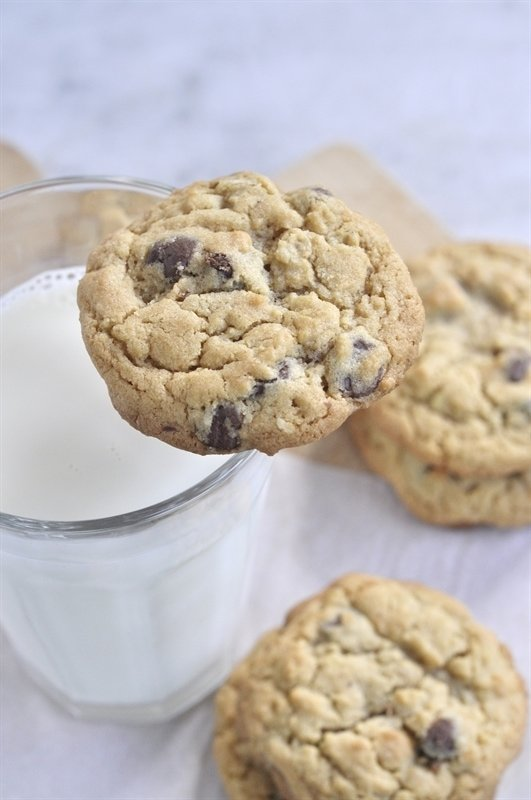 Oatmeal Chocolate Chip Cookies - your homebased mom