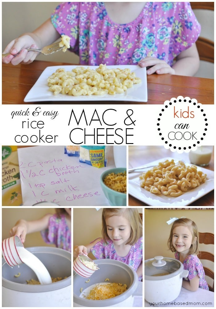 Rice Cooker Mac & Cheese