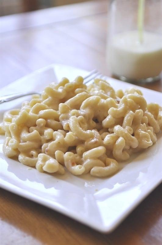 Rice Cooker Mac & Cheese