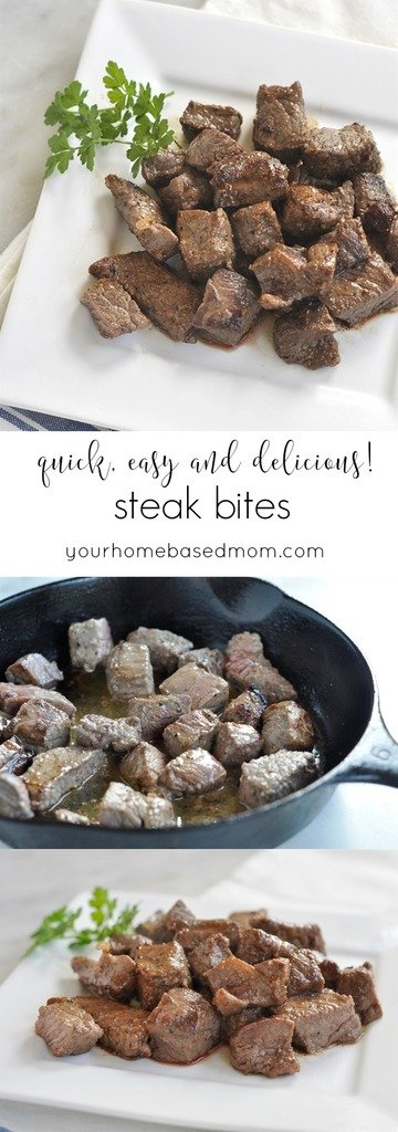 Quick and Easy Steak Bites