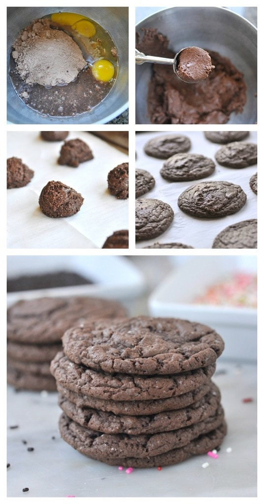 cake mix cookie step by step instructions