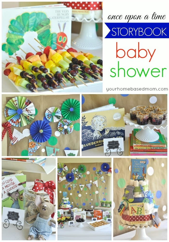 storybook shower
