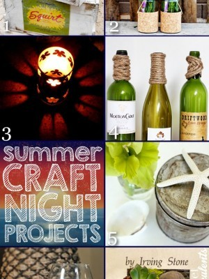 summer craft night projects
