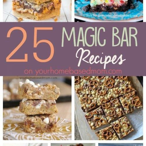 25 Magic Bar Recipes