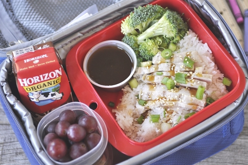 Bento Box with Dipping Sauce