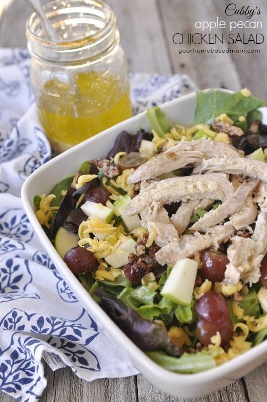 Apple Pecan Chicken Salad