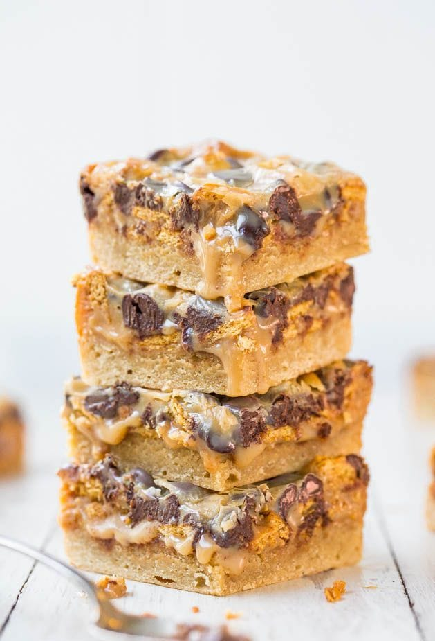 Chocolate Caramel Peanut Bars Recipes — Dishmaps