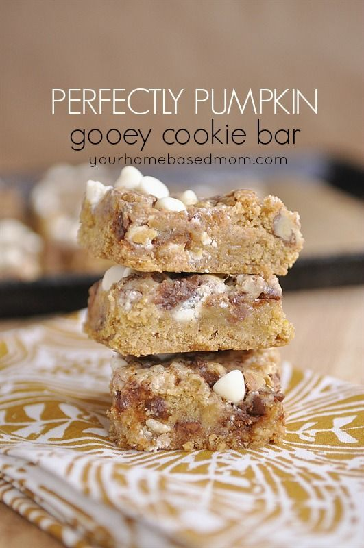 Pumpkin Spice Magic Cookie Bars