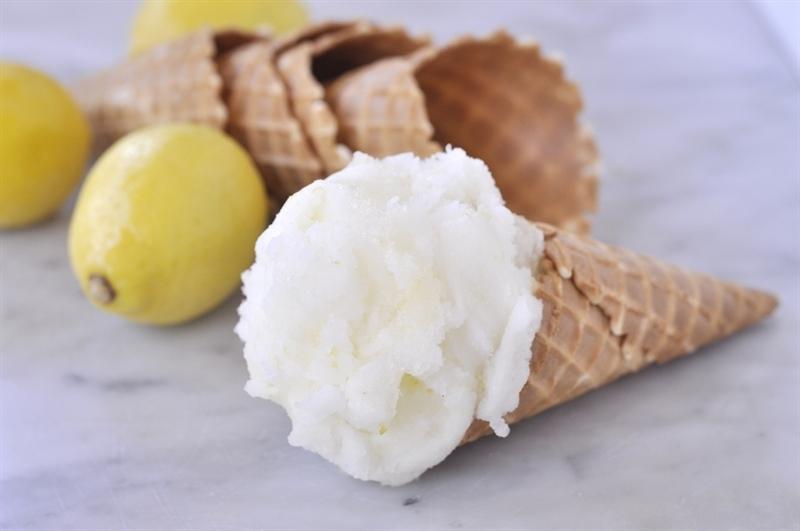 Lemon Sorbet - your homebased mom