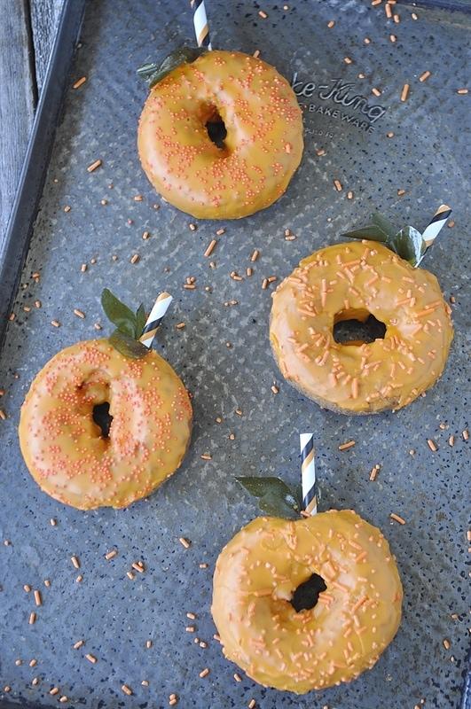 Donut Pumpkins