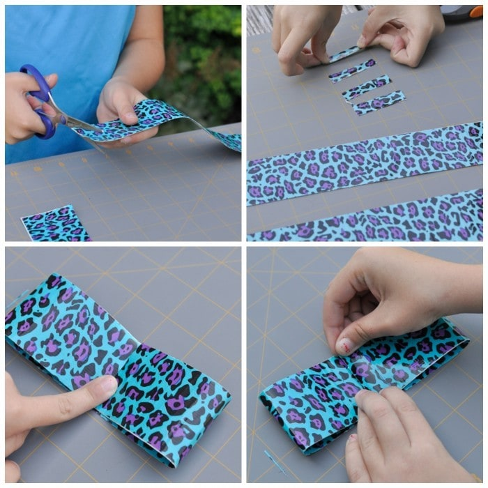 Duct Tape Hair Bows}Activity Day Idea - your homebased mom