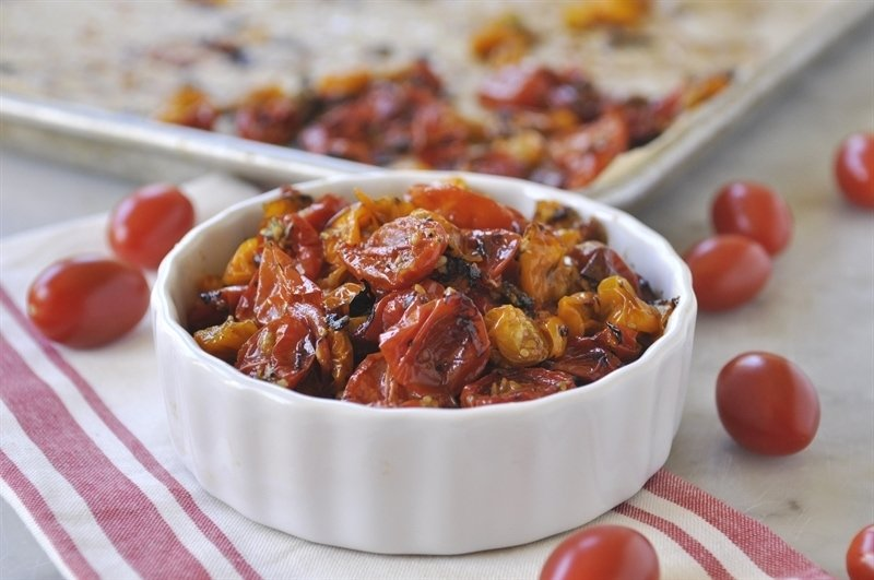 Roasted Cherry Tomatoes - Tomato Candy