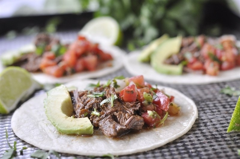 Slow Cooker Chipotle Copycat Barbacoa Beef - your homebased mom