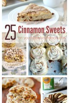 25 Cinnamon Sweets on Your Homebased Mom