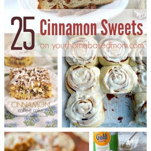 25 Cinnamon Treats